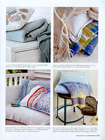 Karen Cotton Stylist - Interiors